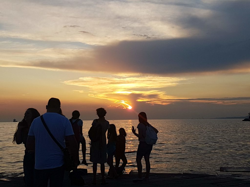 Aperitiviamo a Trieste-* Urbanis, tramonto