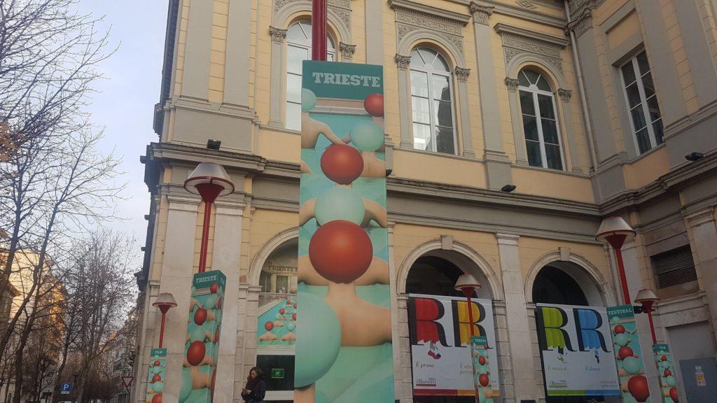 L'ingresso del teatro Rossetti a Trieeste durante il TSFF