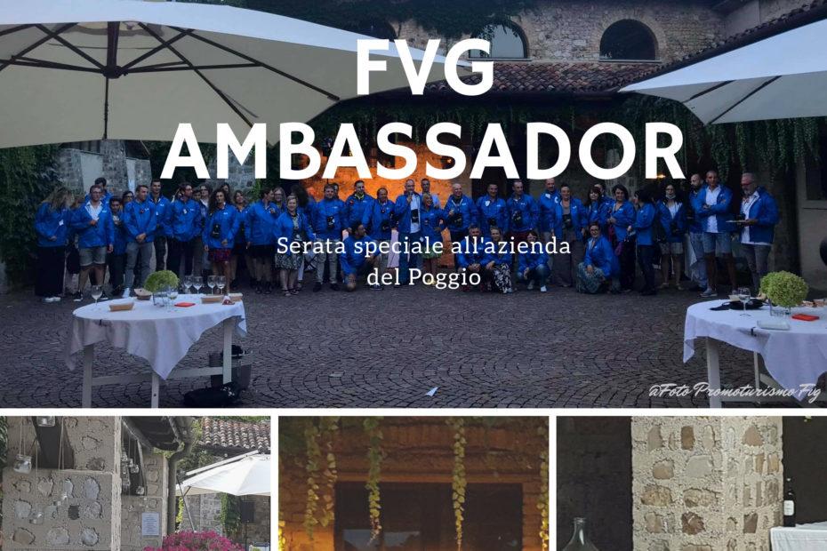 Serata FVG Ambassador