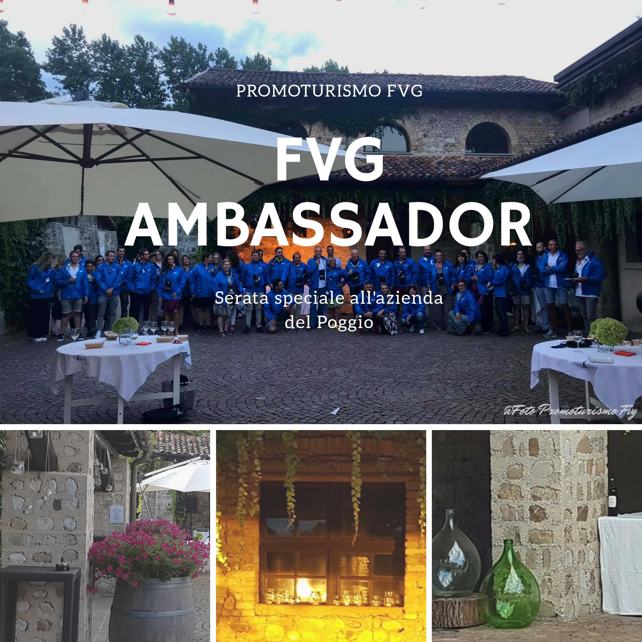 una serata con i Fvg Ambassador
