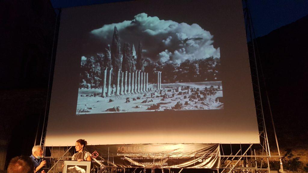 Il maesto Elio Ciol e la sua foto premio di AFF2020