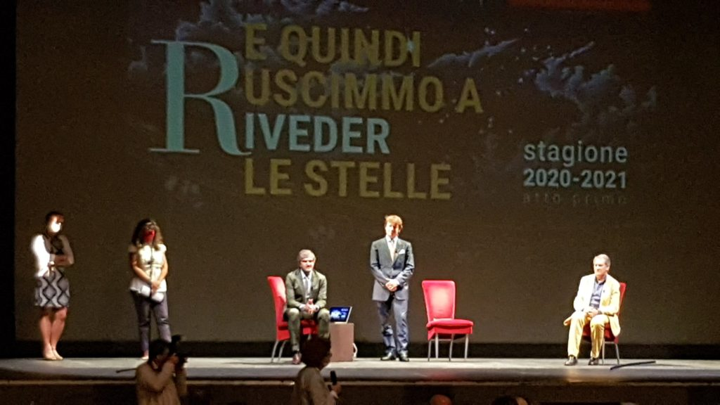 Le autorità salutano la nuova stagione teatroale del Rossetti di Trieste