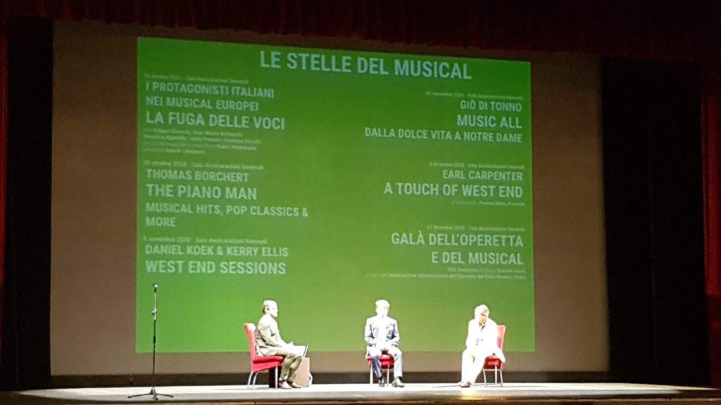 Le stelle del musical  al teatro Rossetti