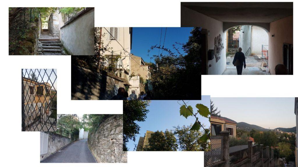 Trieste nascosta - Via Zanella