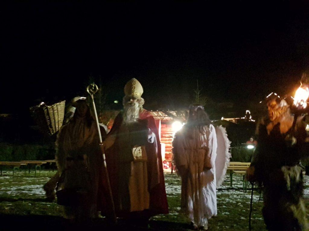 San Nicolò e i Krampus a Tarvisio