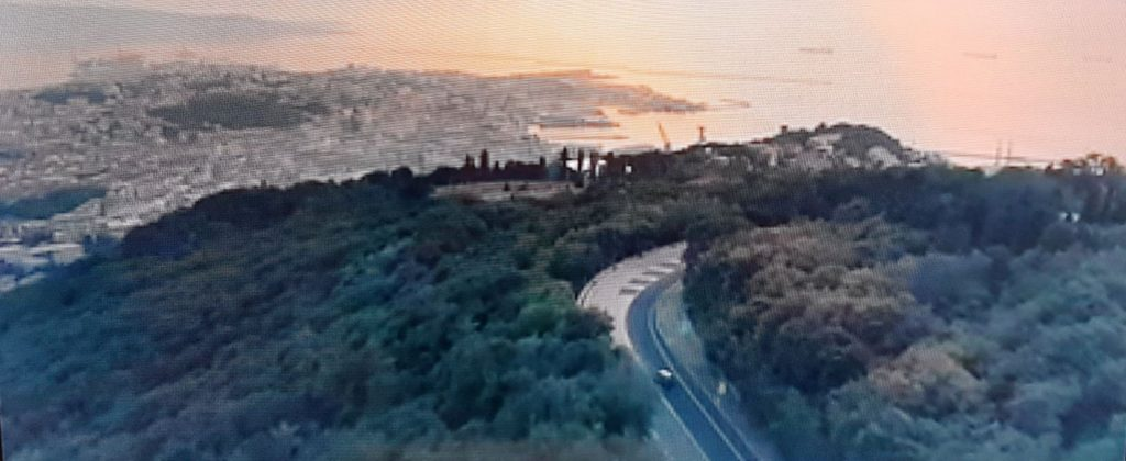 Trieste vista dall'alto in Tolo Tolo