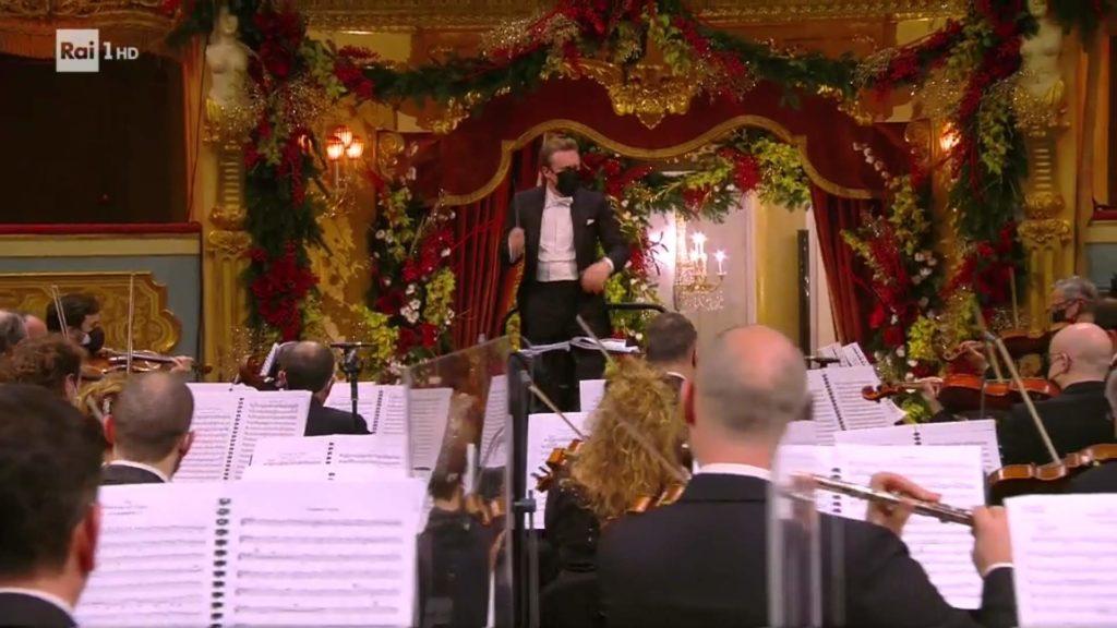 Il maestro dirige il Concerto di Venezia tra i fiori