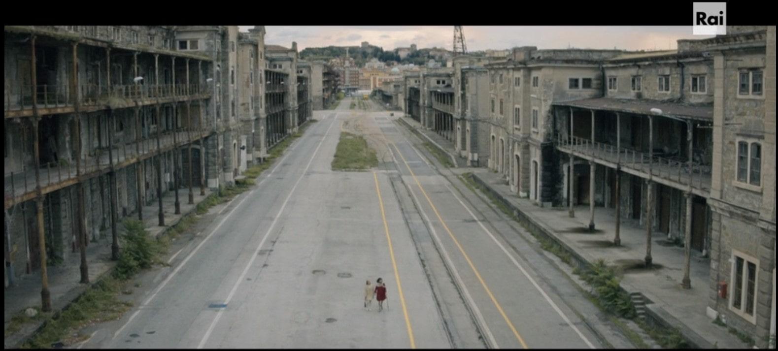 terra rossa -Trieste -Porto vecchio dall'alto