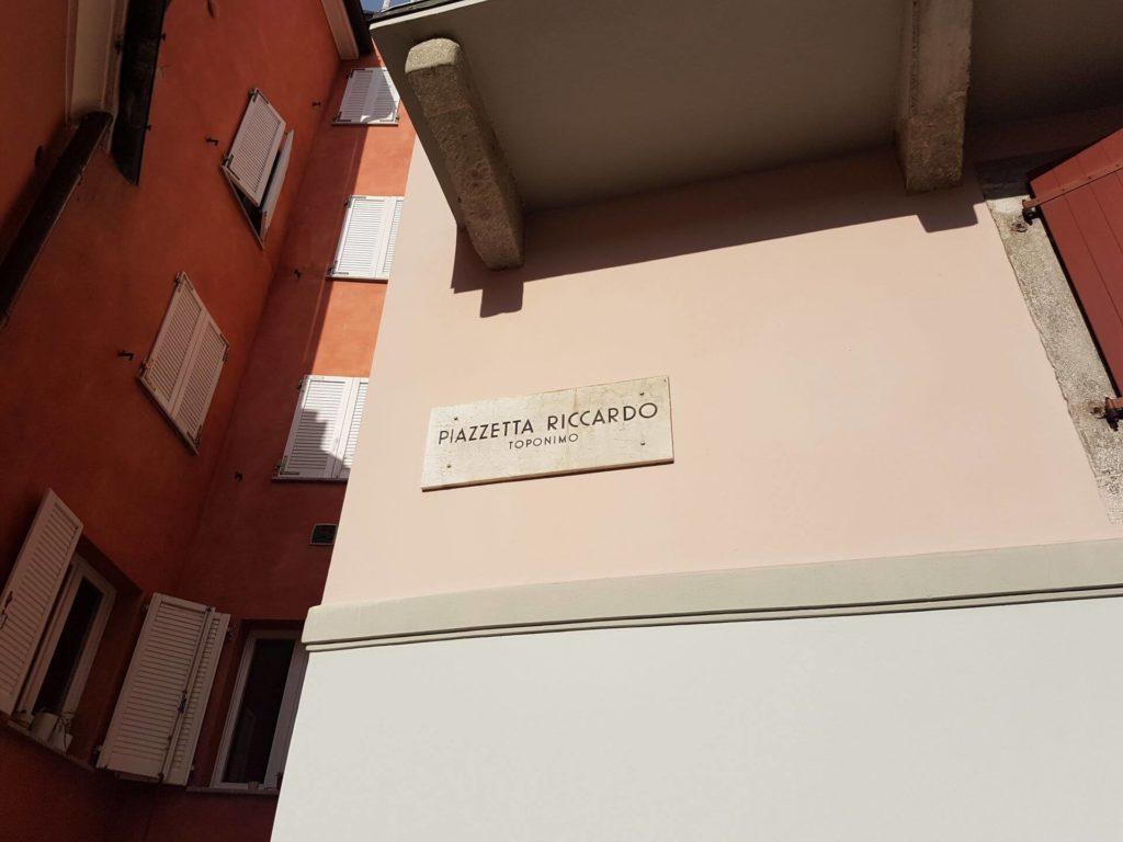 Trieste antica - Piazzetta Riccardo
