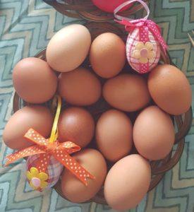 Uova sode tradizione pasquale