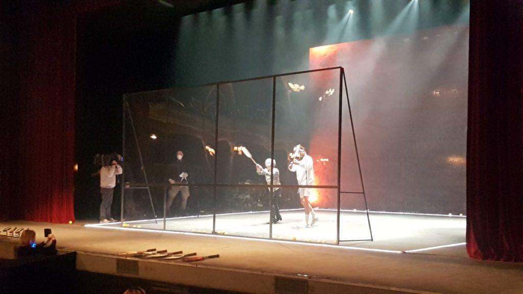 Ariella Reggio e Paolo Valerio in un doppio sulla scena del teatro Rossetti