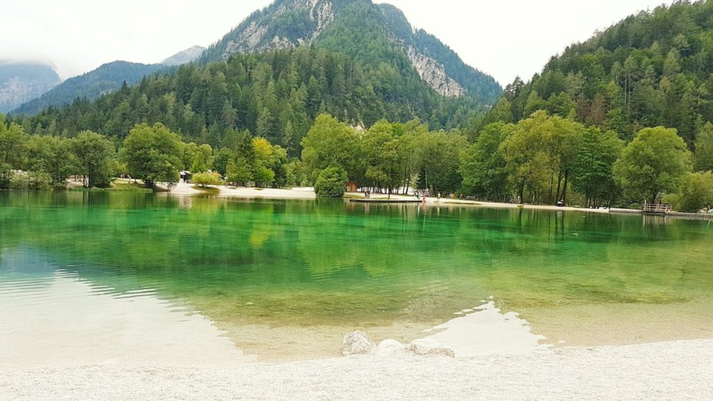 Il lago di Kraniska 2 min