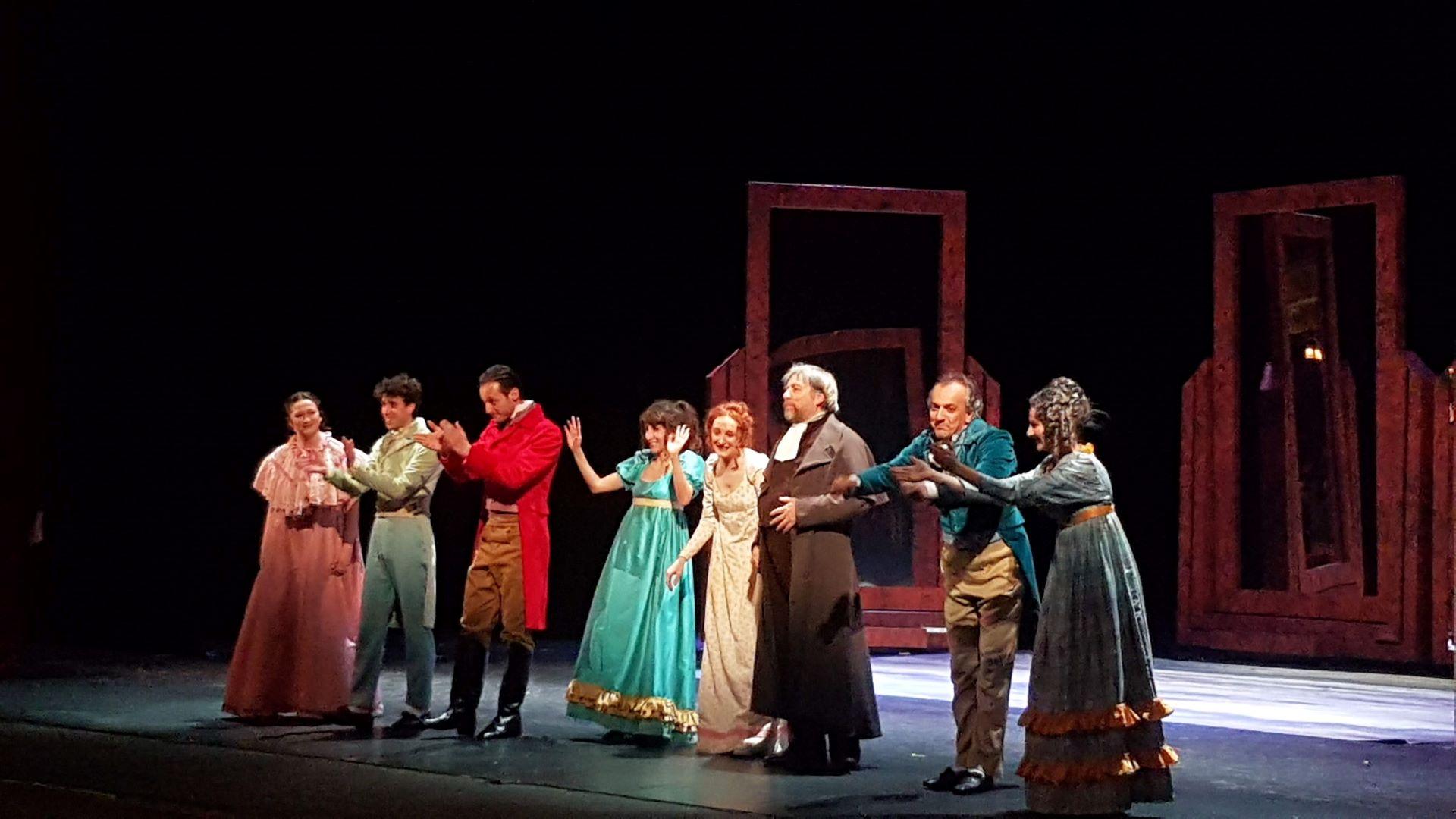 Orgoglio e pregiudizio a teatro