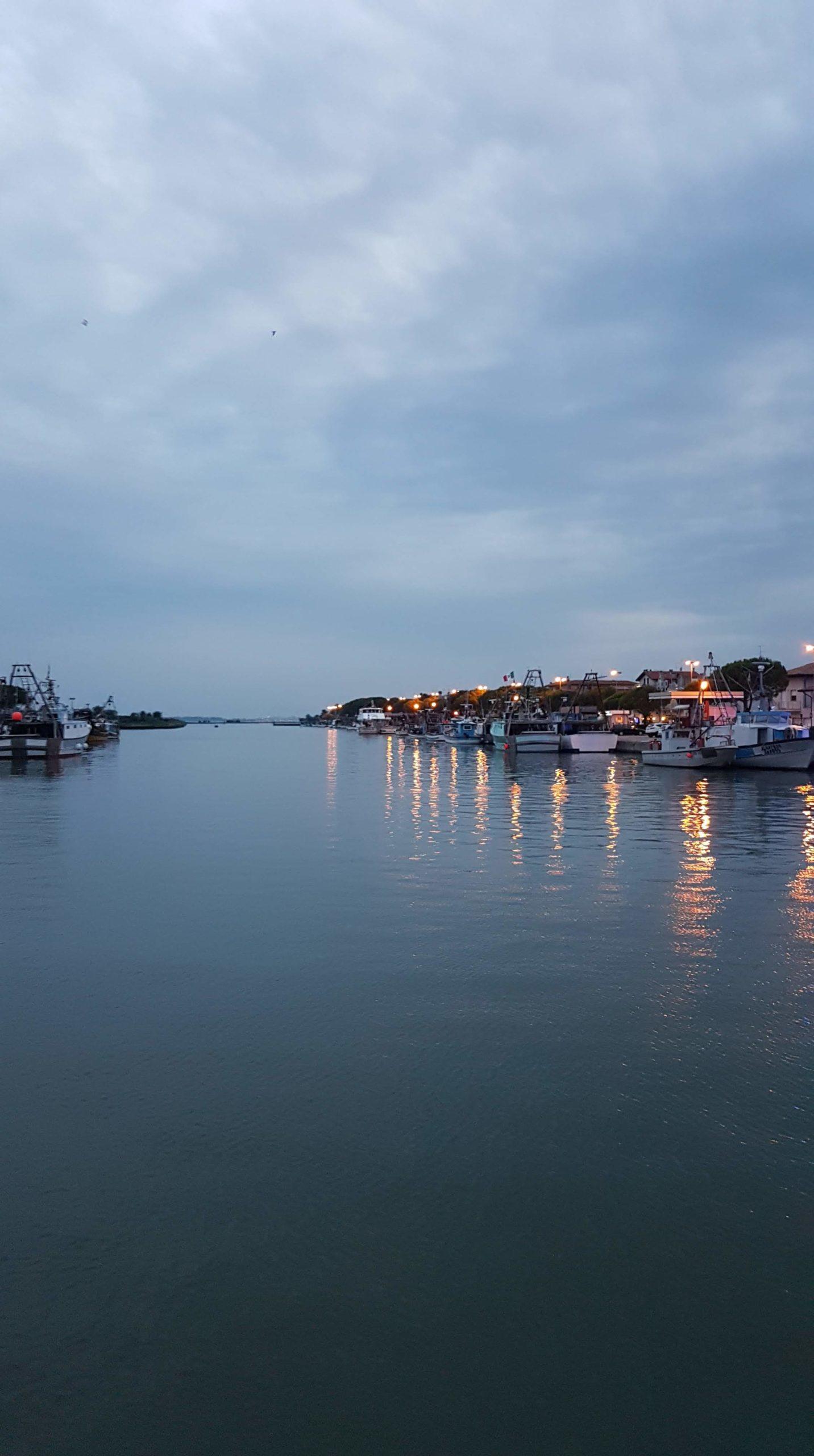Veduta della laguna di Marano Lagunare