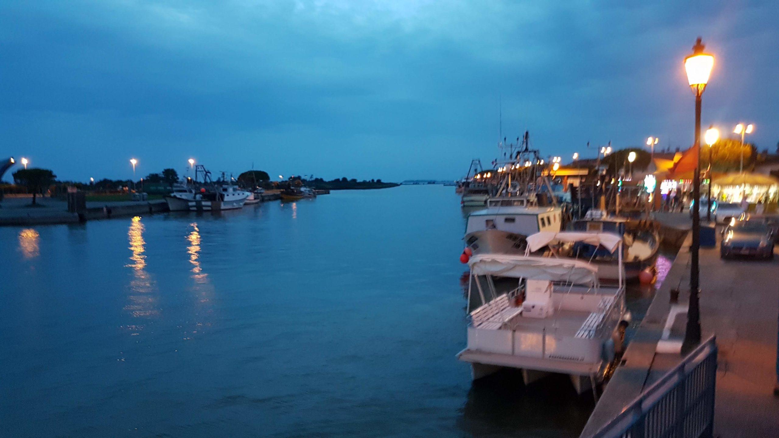 IL canale d'acesso di Marano Lagunare