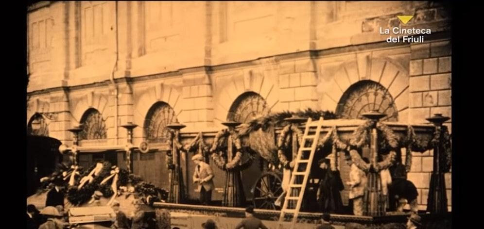 Aquileia film Festival 2021 Gloria la partenza da Trieste