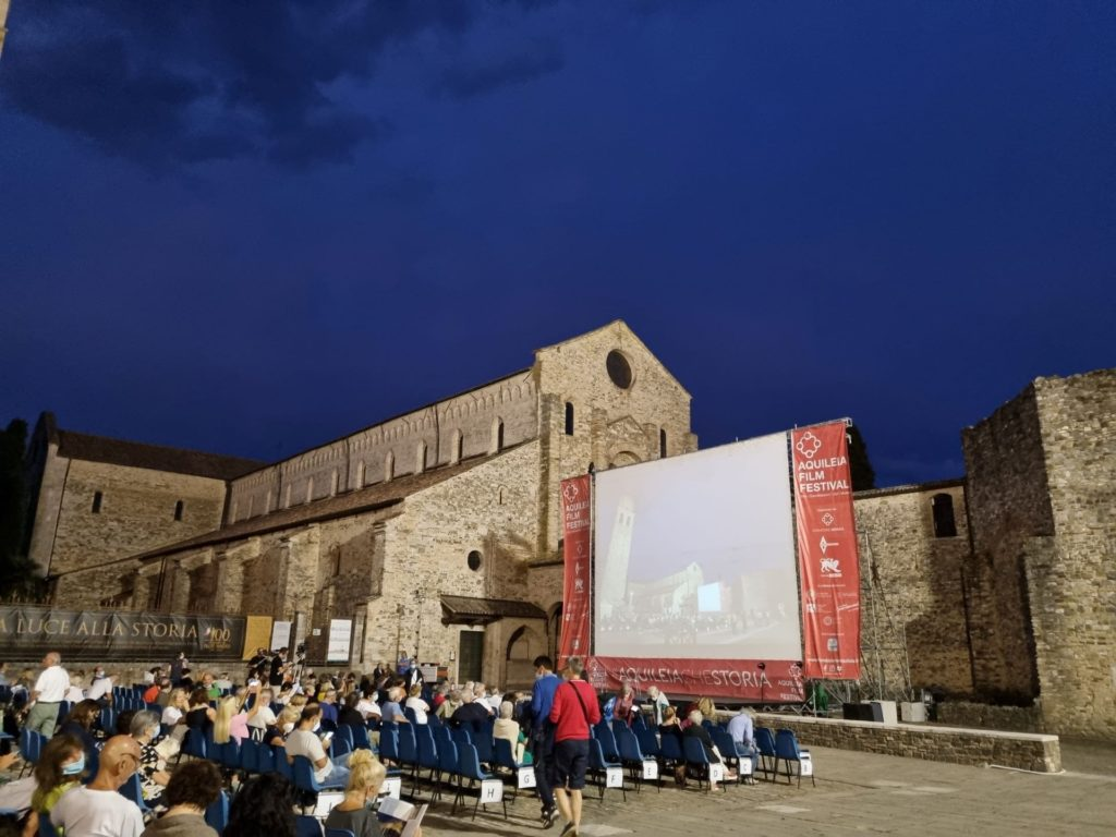 Aquileia film Festival 2021 piazza capitolo min