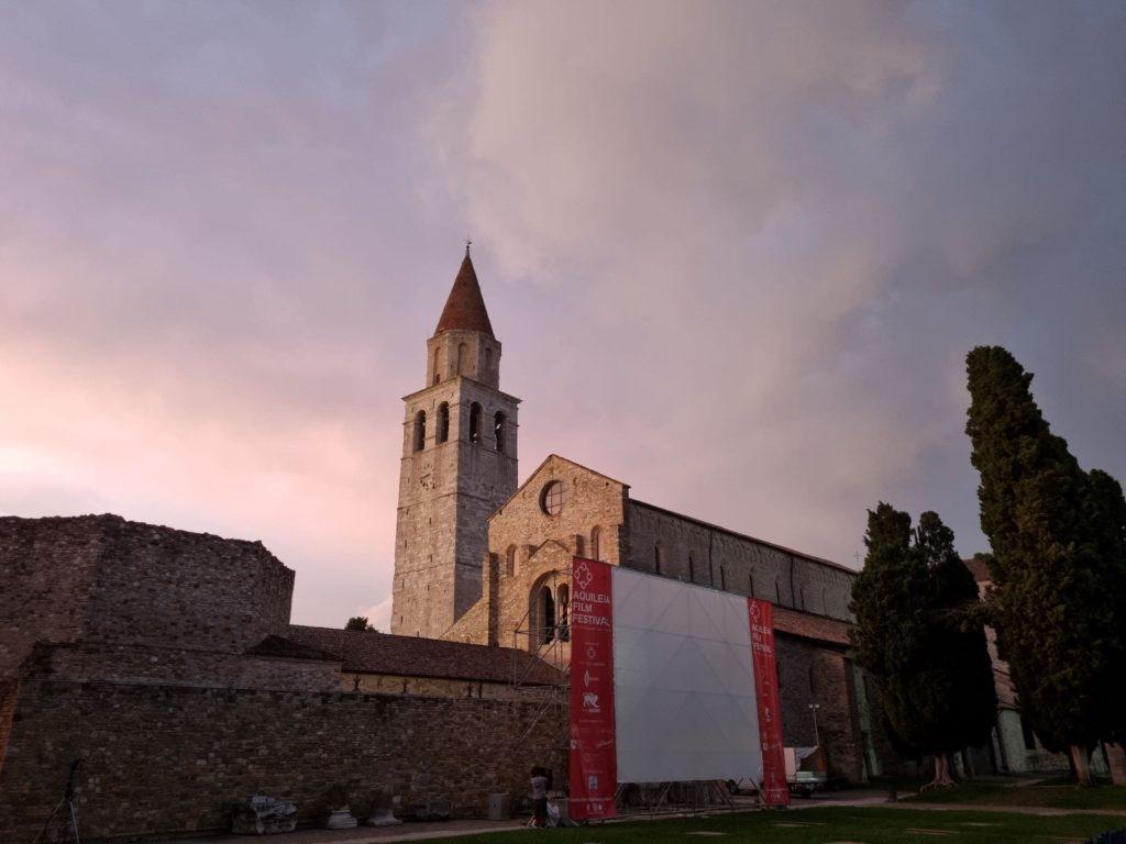 Aquileia film Festival 2021 piazza patriarcato-