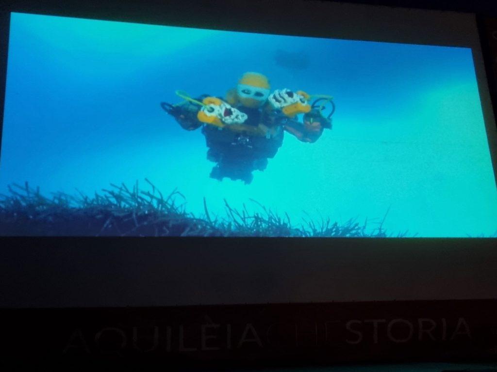 Aquileia film Festival 2021 robot archeologi