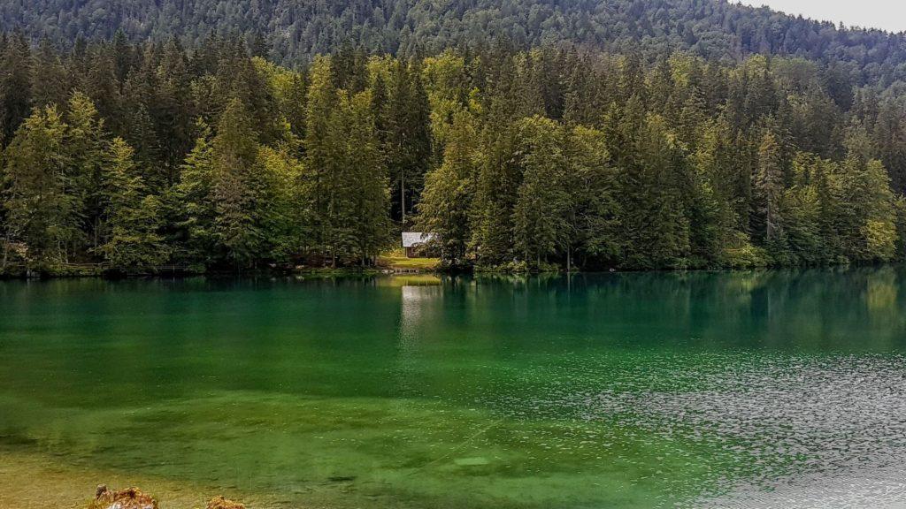 Il lago di Fusine