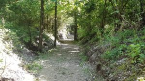 la nuova passeggiata a Camporosso