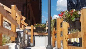 lingresso della nuova passeggiata di Camporosso