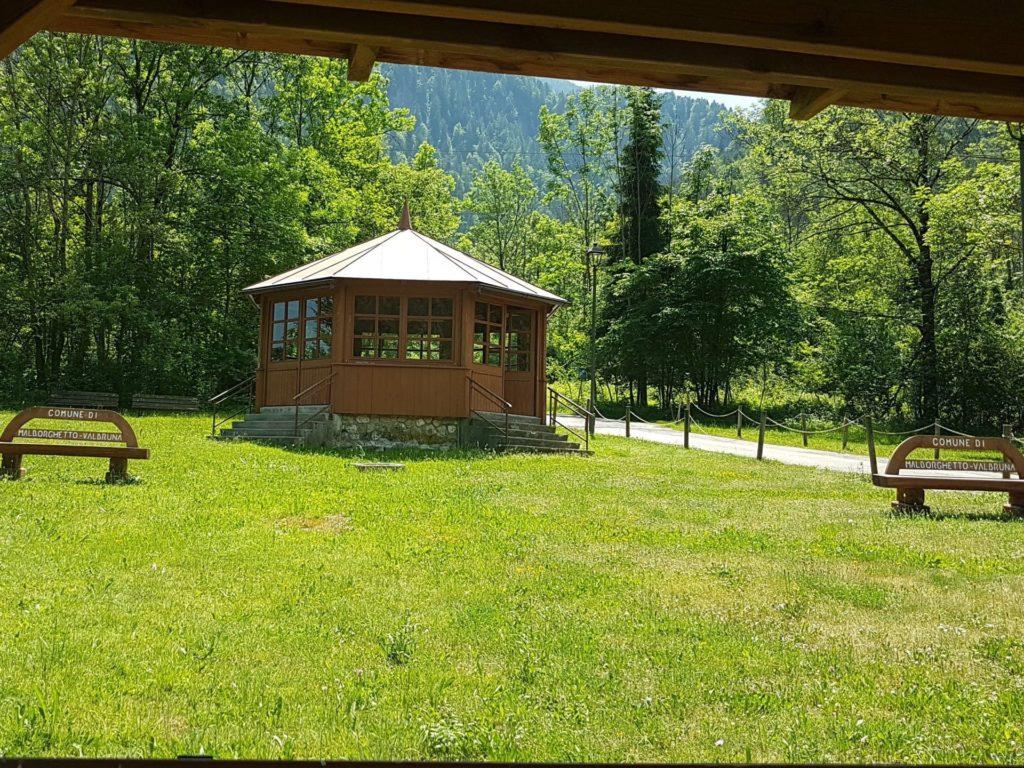 weekend tra le montagne del Fvg- acqua sulfurea a Bagni di Lusnizza