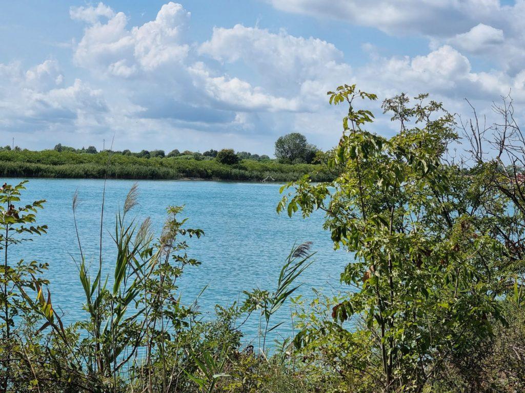 Passeggiate in bicicletta a Lignano Sabbiadoro - il fiume