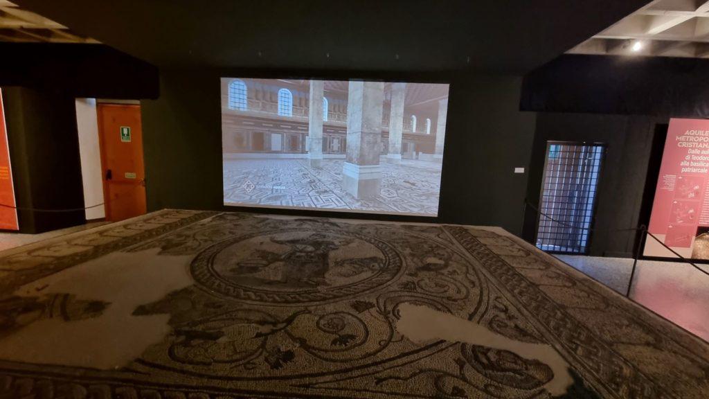 Visitare Aquileia - il mosaico del Buon pastore