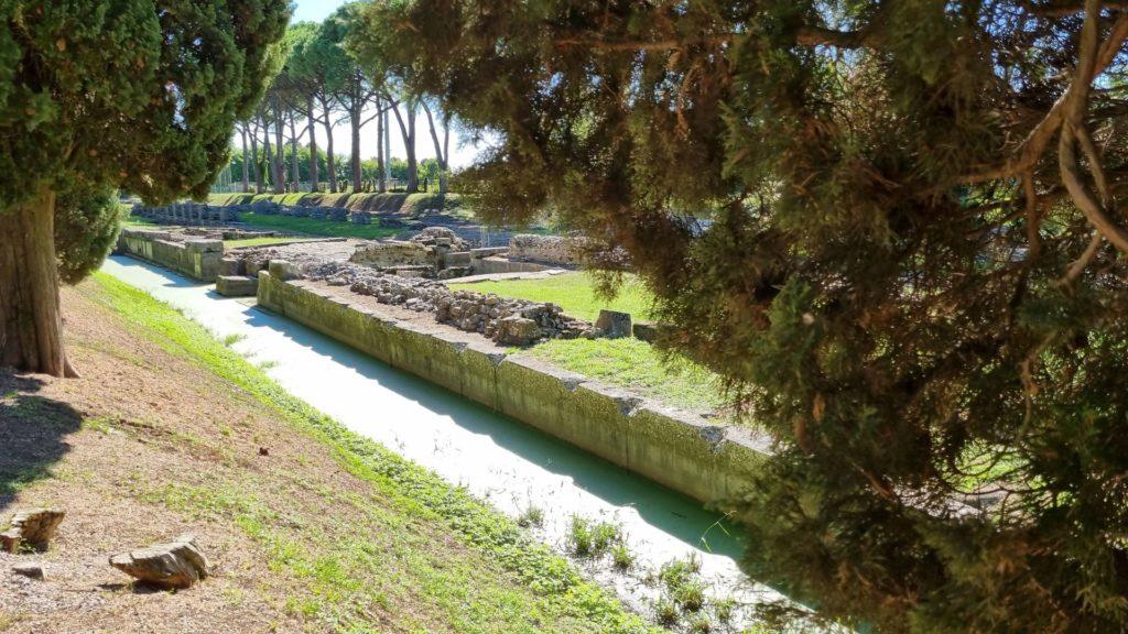 Visitare Aquileia - il porto fluviale
